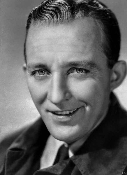 Bing Crosby smiling in Tuxedo Close Up Portrait Premium Art Print