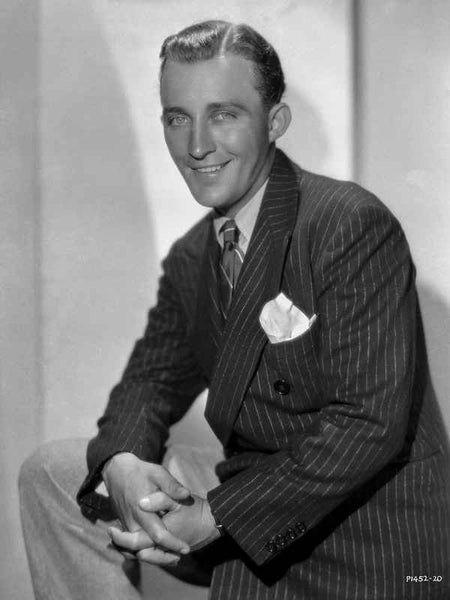 Bing Crosby Posed Black Suit Portrait Premium Art Print