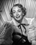 Joan Crawford wearing a Big Dress in a Classic Portrait Premium Art Print