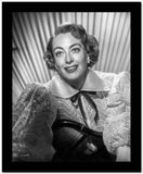 Joan Crawford wearing a Big Dress in a Classic Portrait High Quality Photo