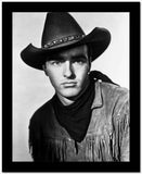 Montgomery Clift Portrait in Cowboy Outfit High Quality Photo