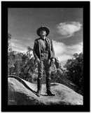 James Cagney standing with Hands on the Side in Cowboy Outfit and Leather Boots High Quality Photo