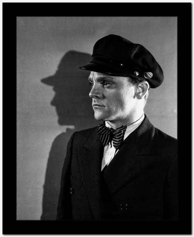 James Cagney in Formal Suit with Cap Classic Portrait High Quality Photo