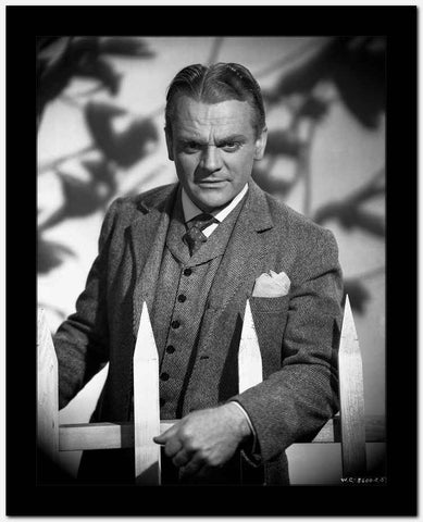 James Cagney in Formal Suit Classic Portrait High Quality Photo