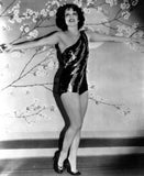 Clara Bow Posed with Sexy Dress Premium Art Print