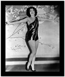 Clara Bow Posed with Sexy Dress High Quality Photo