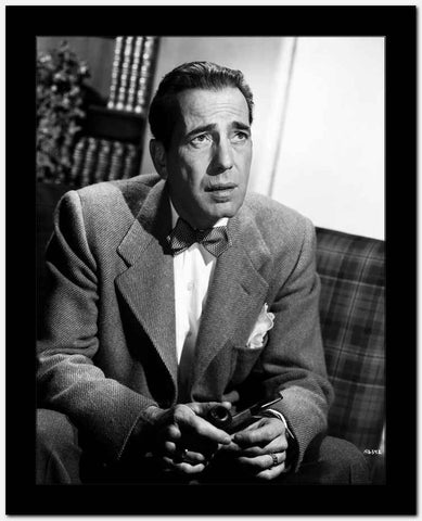 Humphrey Bogart in Casablanca 1942 High Quality Photo