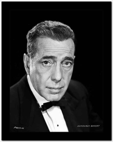 Humphrey Bogart in a bowtie High Quality Photo