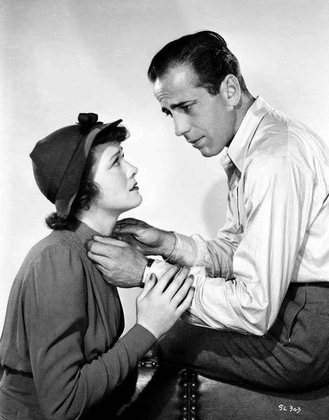 Humphrey Bogart with Lady Premium Art Print