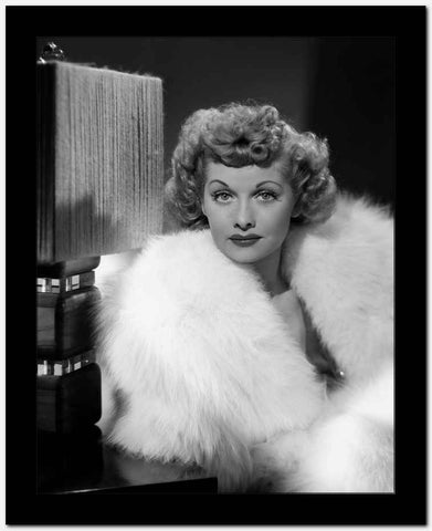 Lucille Ball Classic Portrait High Quality Photo