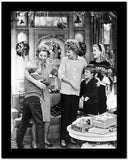 Lucille Ball with Cast in Movie Scene High Quality Photo