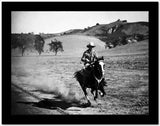 Gene Autry Riding a Horse High Quality Photo