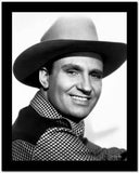 Gene Autry smiling in Westerner Outfit High Quality Photo