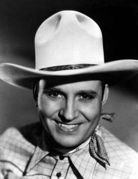 Gene Autry Happy in Cowboy Outfit Premium Art Print