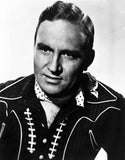 Gene Autry Posed in Cowboy Outfit Premium Art Print