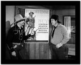 Gene Autry Talking to a Man in Shirt High Quality Photo