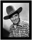 Gene Autry smiling in Western Outfit High Quality Photo