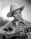 Gene Autry Carrying a Guitar Premium Art Print