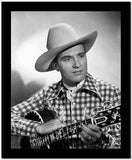 Gene Autry Carrying a Guitar High Quality Photo