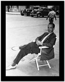 Fred Astaire Seated on Chair Black and White High Quality Photo