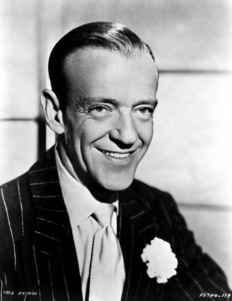 Fred Astaire Posed in Suit and Tie Premium Art Print