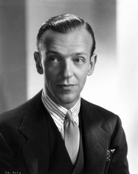 Fred Astaire in Suit with a Expressionless Face Premium Art Print