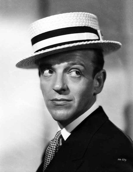 Fred Astaire Posed with a Straight Face in Suit Premium Art Print