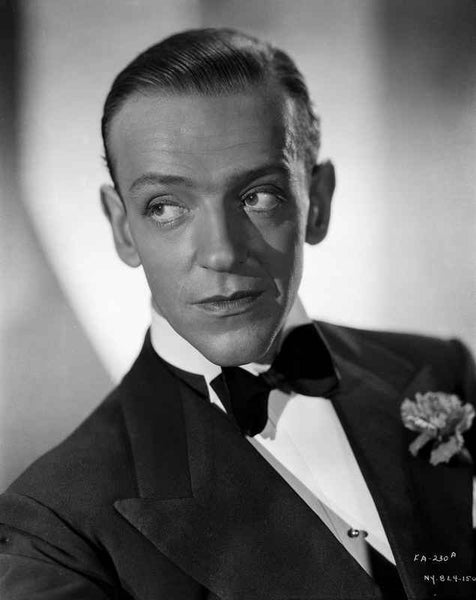 Fred Astaire Posed in Suit with a Straight Face Premium Art Print
