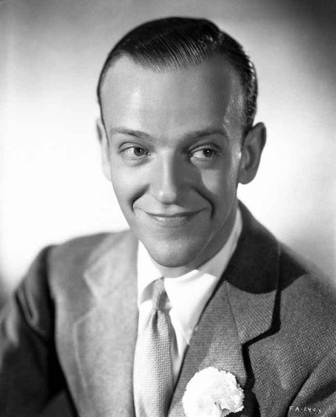 Fred Astaire Smiling Candidly Premium Art Print