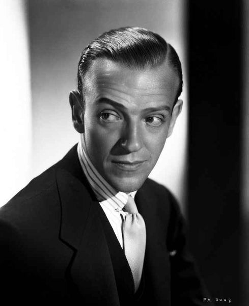 Fred Astaire Posed in Formal Attire and Tie Premium Art Print