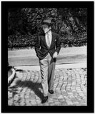 Fred Astaire Walking with Hand in Pocket High Quality Photo
