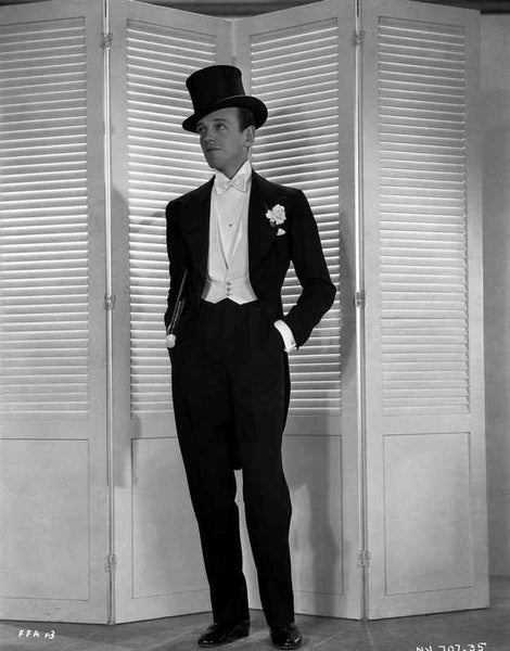 Fred Astaire Posed with Pants in Pocket Premium Art Print