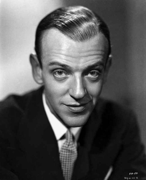 Fred Astaire Posed in Portrait Premium Art Print