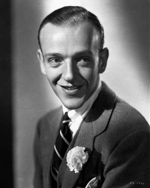 Fred Astaire Posed in Spontaneous Smile Premium Art Print