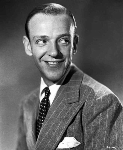 Fred Astaire Posed in Suit Premium Art Print