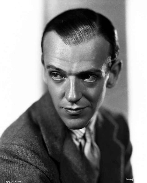 Fred Astaire Smirking in Formal Suit Premium Art Print