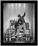 Fred Astaire Dancing on Miniature Building High Quality Photo