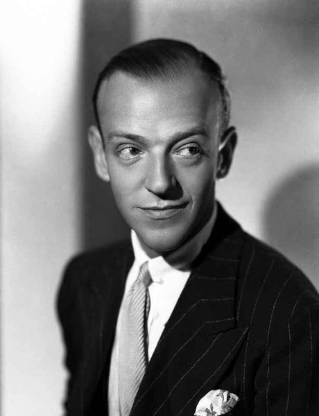 Fred Astaire smiling in Tuxedo Premium Art Print