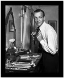 Fred Astaire Fixing Neck Tie High Quality Photo