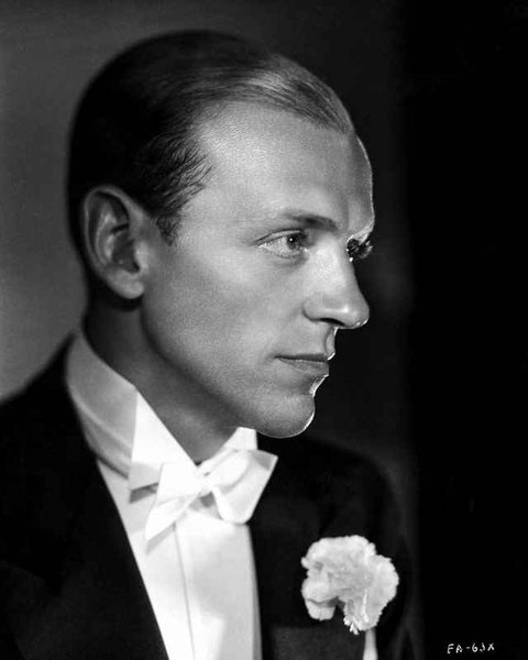 Fred Astaire in White Tie Premium Art Print