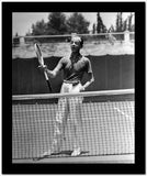Fred Astaire Holding Tennis Racket High Quality Photo