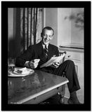 Fred Astaire laughing in Portrait High Quality Photo