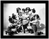 Abbott & Costello Captured by Beautiful Pirate Women High Quality Photo