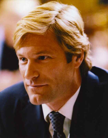 Aaron Eckhart Close Up Portrait High Quality Photo