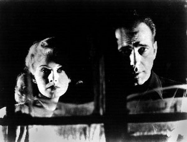Big Shot in Front of the Window Couple Scene Excerpt from Film Premium Art Print