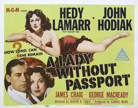 A Lady Without a Passport Premium Mini Poster