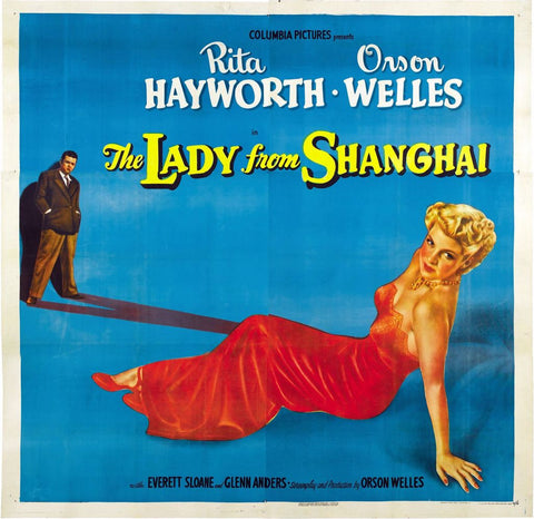 Lady From Shanghai B Premium Mini Poster