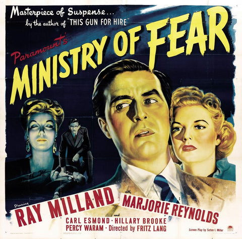 Ministry of Fear Premium Mini Poster