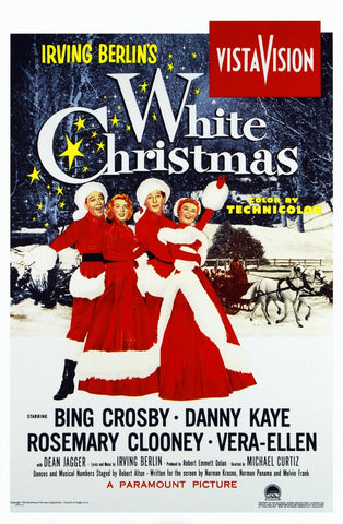 White Christmas Premium Mini Poster