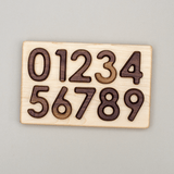 0-9 Wooden Number Puzzle